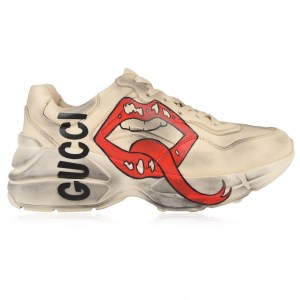 """GUCCI""""RHYTON LIPS"""" IN PELLE 50MM - gucci shoes high top"""