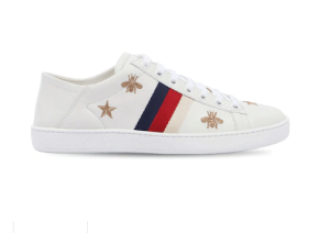 """GUCCISNEAKERS """"NEW ACE"""" gucci shoes with embroidery"""