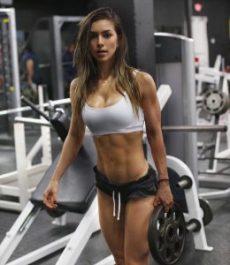 gabriela puglisi, fitness model