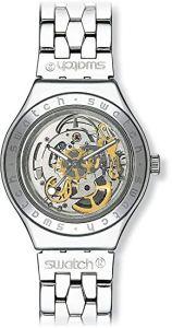 Swatch Orologio da Uomo Analogico al Quarzo con Cinturino in Acciaio Inox – YAS100G