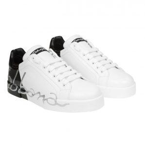 Dolce e Gabbana sneakers uomo bicolore firmate