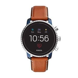 orologi sportivi uomo, orologi digitali, Fossil Smartwatch Uomo con Cinturino in Pelle FTW4016