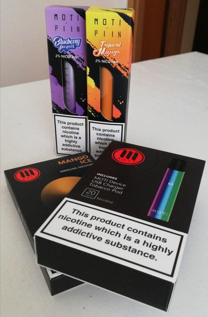 Sigaretta elettronica moti