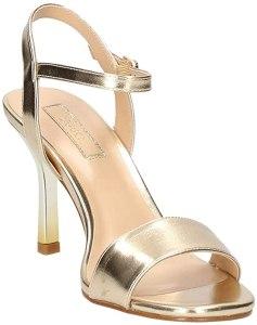 Liu Jo SA0035EX029 Sandalo Tacco Oro - Primavera Estate, sandali con tacco