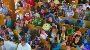 La messa a Rarotonga