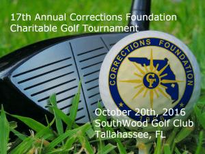 17th annnual charitable golf tournament logo