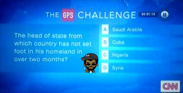 CNN mocks Nigeria over the continuous absence of president Buhari