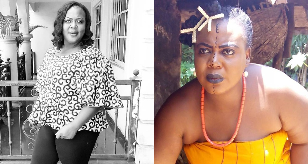 """Marrying a rich guy does not guarantee a happy marriage""- Actress Uche Ebere Agu"