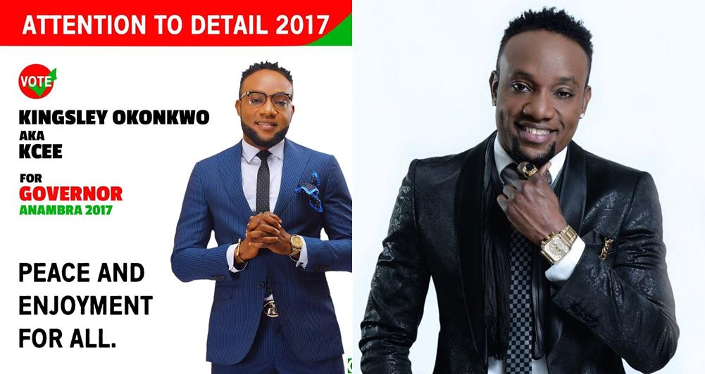 """I have never smoked in my entire life, I pray alot""- Singer kcee  (Read full statement)"