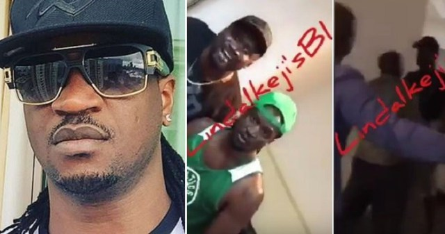 "Psquare's Paul Okoye reacts to the viral ""Fight"" video."
