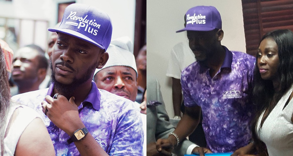 Adekunle Gold signs endorsement deal with Revolution Properties (See photos)