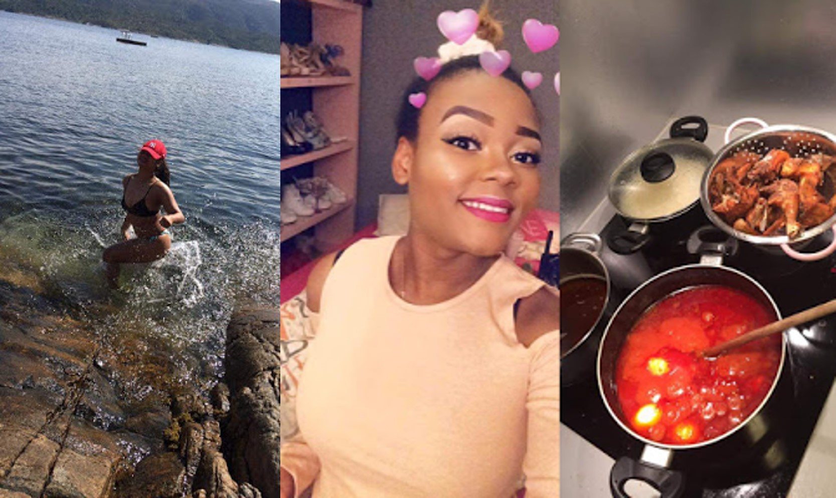 """If your girlfriend don't cook for you, don't just dump her throw her the f**k away""- Nigerian lady"