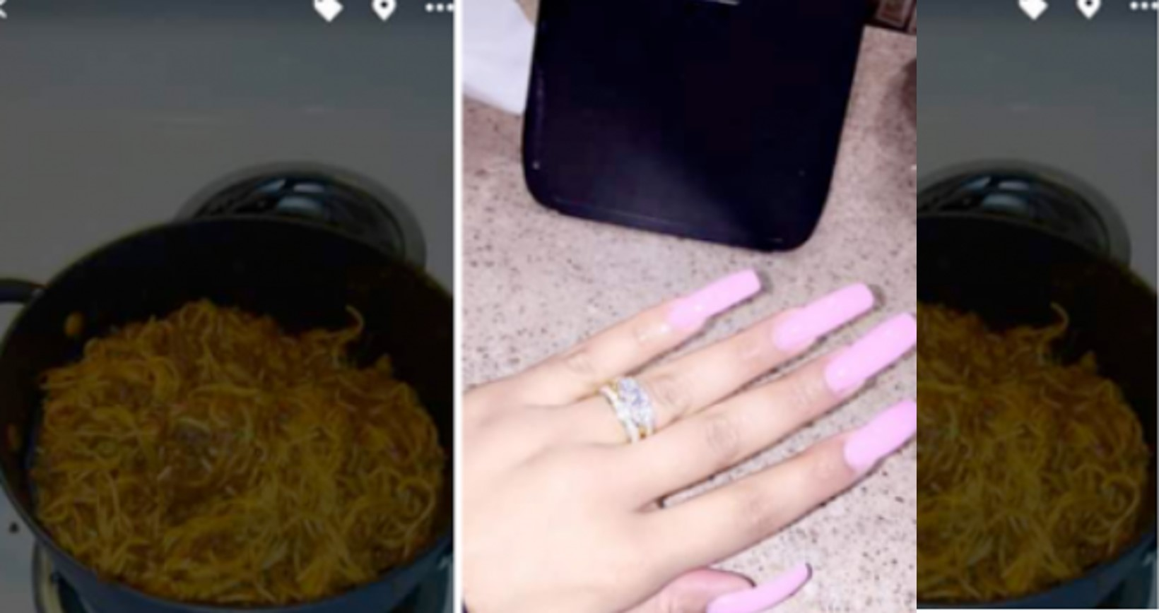 I used witchcraft and menstrual blood to cook spaghetti to get my man – A lady brags online