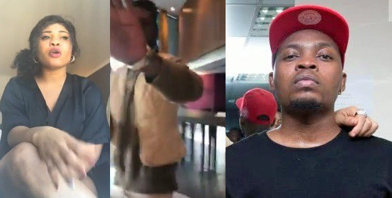 Lady confronts Olamide in a hotel in Germany for only performing for 20 minutes (video)