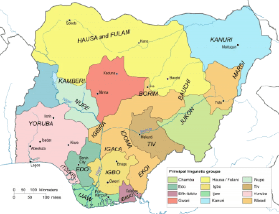 major tribes in Nigeria