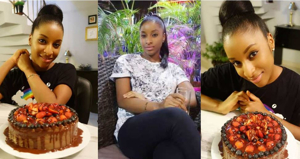 Adesua Etomi's look-alike shares beautiful new photos