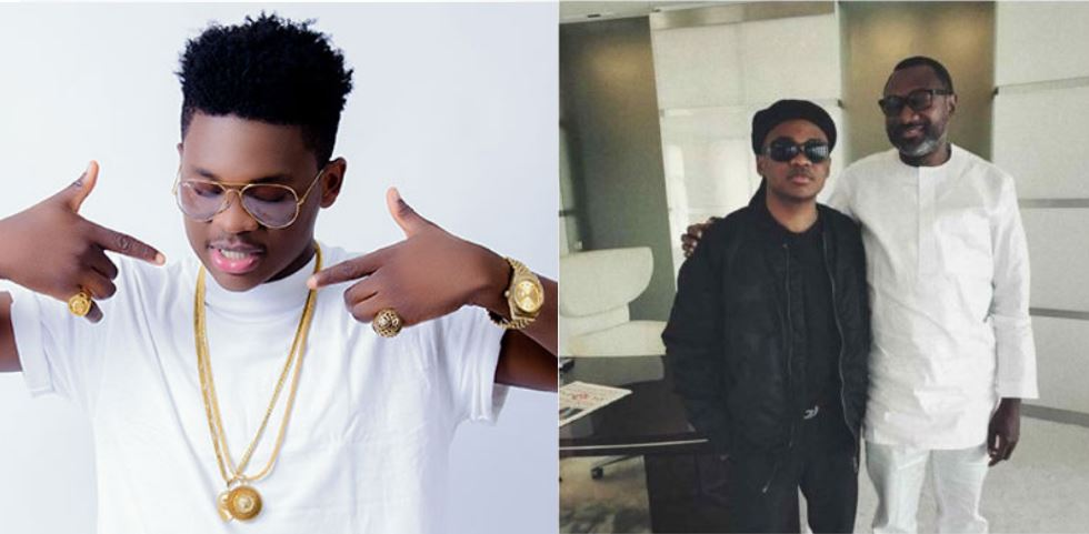 What Femi Otedola told me the day I met him – Rising Nigerian singer, Dice Ailes