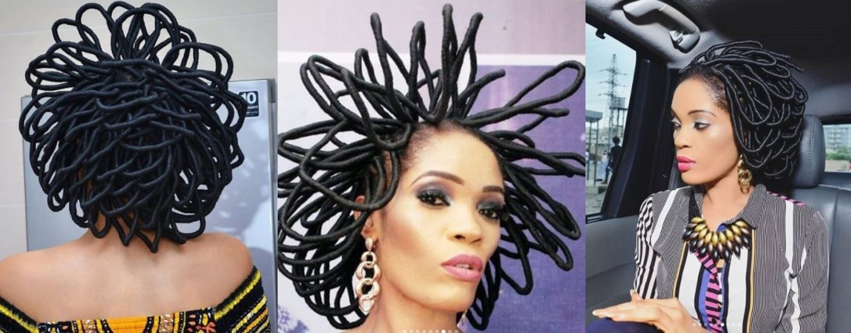 Check out more Photos of Chika Lann and her 'N40 Million' Hair