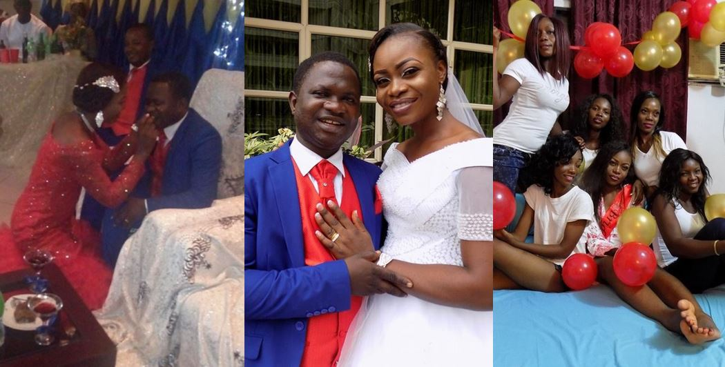 'It all started with a 'hello & hi' on Facebook' – Man ties the knot with his fiancee whom he met on Facebook (Photos)
