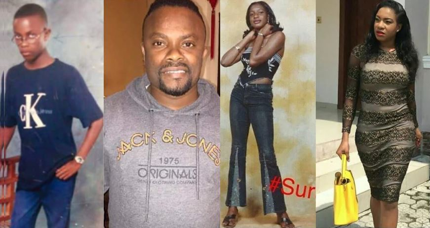 Throwback photos of 30 popular Nigerian celebrities that would crack you up (before and after they became famous)