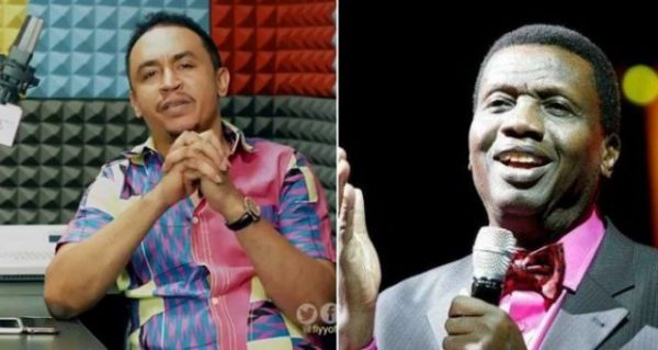 OAP, Daddy Freeze reacts to Pastor Adeboye saying God drank tea with him
