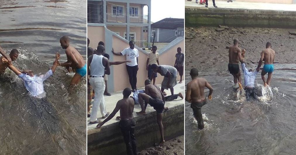 Corps member slips and drowns in river while taking selfie in Bayelsa (Photos)