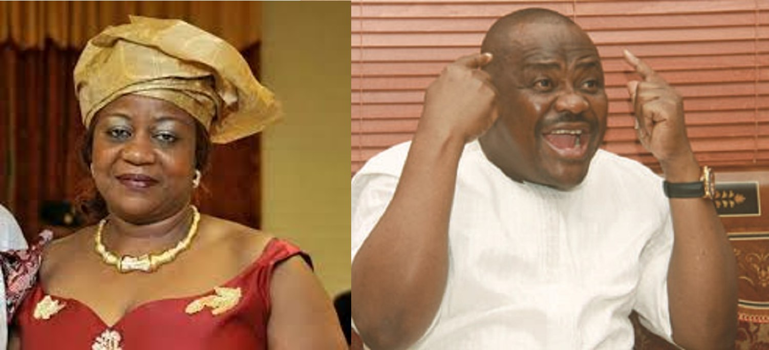 """""""Governor Wike is being haunted by the blood of the innocents he has shed since 2015"""" Lauretta Onochie says (Screenshots)"""
