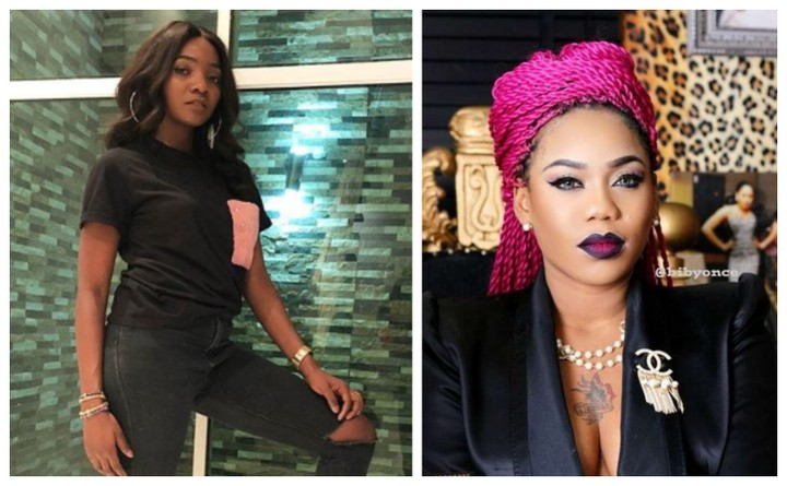 Angry Simi blasts Toyin Lawani for saying all men cheat & are entitled to 10 women