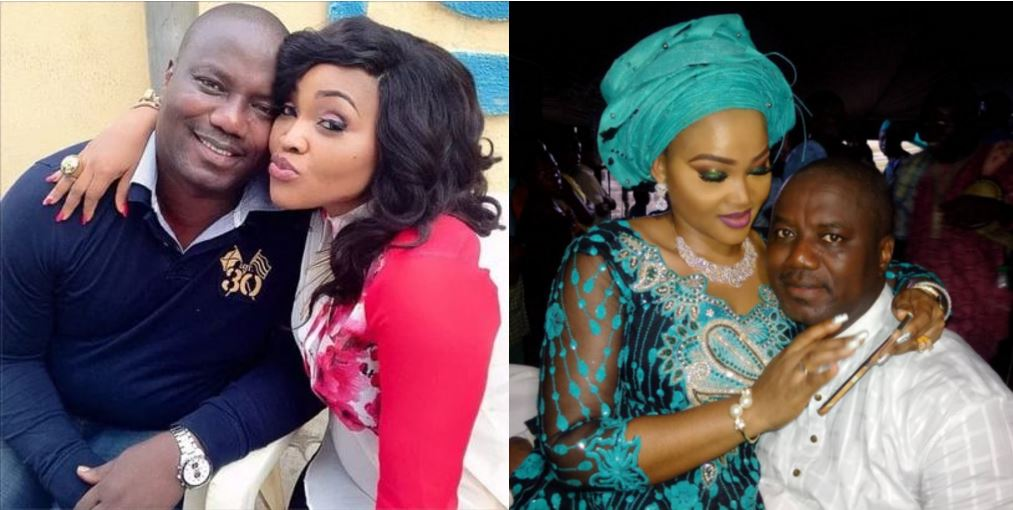 Mercy Aigbe's ex, replies her shady Father's Day post by listing all he does for his kid and hers