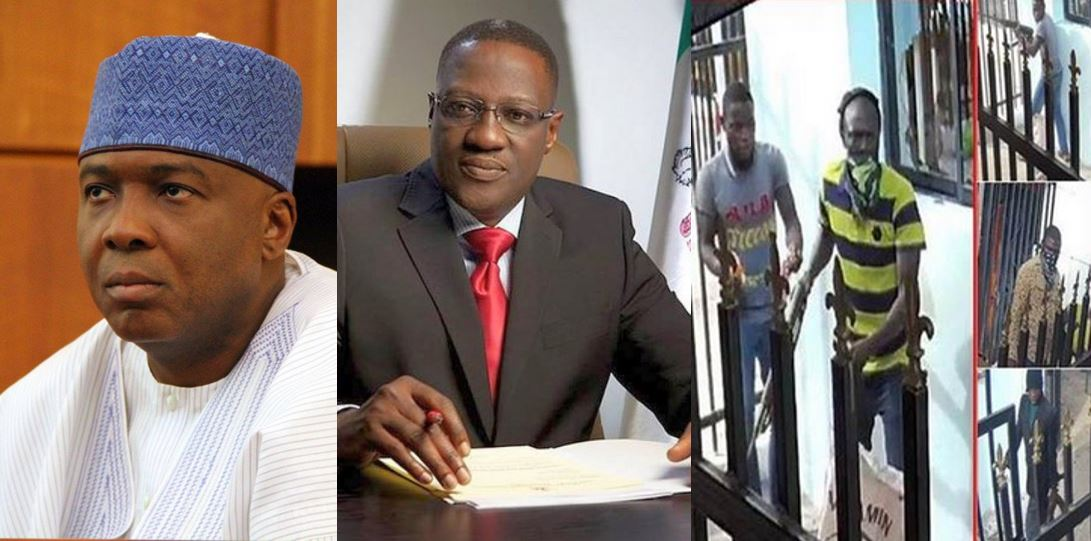 Listen to the audio recording of arrested Offa bank robbery gang leader explaining how Saraki and Governor Ahmed are linked to the robbery