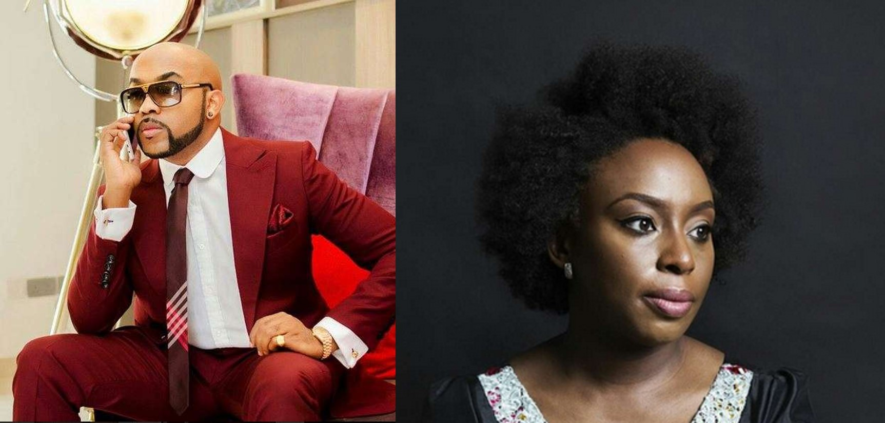 Banky W reacts to Chimamanda Adichie's comment on men holding the door for women