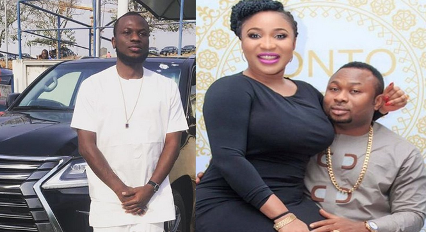 """Fake Tonto! How Can Someone Who Bought You Prado Worth N32M Be Squatting With You""""- Churchill's Brother Slams Tonto Dikeh (Screenshots)"""