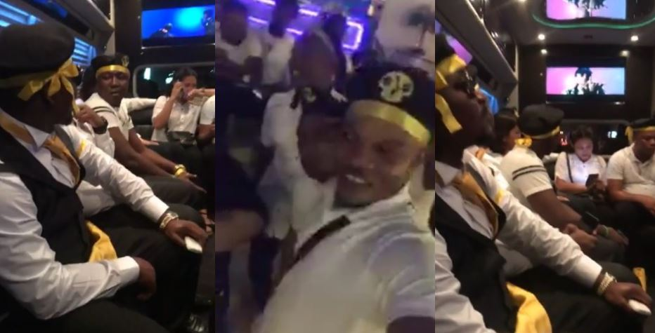 7th July; Nigerian Black Axe (Aye) Cult Members Storm Night Club In Philippines (Photos)