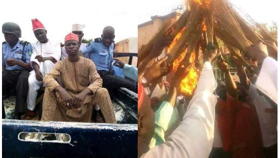 Kwankwaso supporters arrested for burning brooms in Kano (PHOTOS)