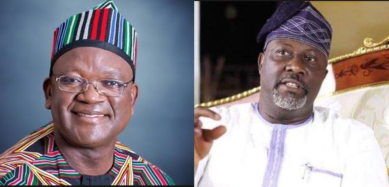 Dino Melaye reacts to impeachment notice on Benue state Governor