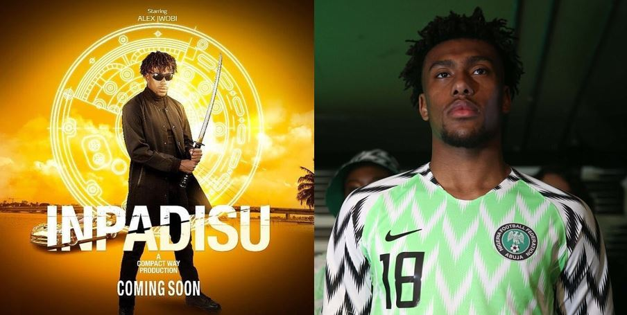 Super Eagles and Arsenal star, Alex Iwobi makes Nollywood debut (Trailer)