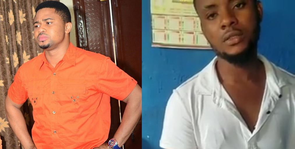 Young man arrested for impersonating actor Mike Godson