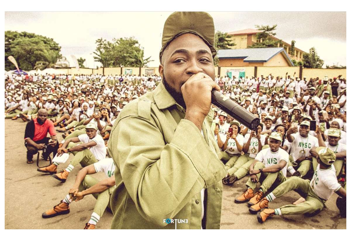 Davido reveals ONE THING he has not done for three days