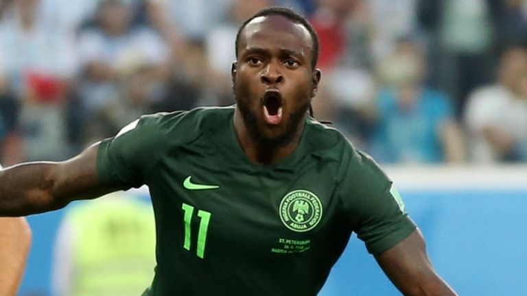 Super Eagles and Chelsea Winger, Victor Moses Retires From International Football