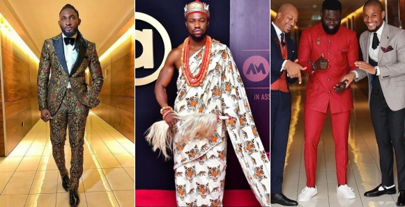 #AMVCA2018: Top 10 best dressed male celebs (Photos)