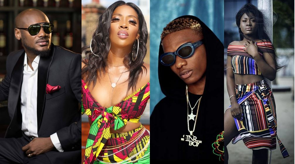 Tiwa Savage, Wizkid, Alex and others send lovely messages to celebrate 2face on his 43rd birthday