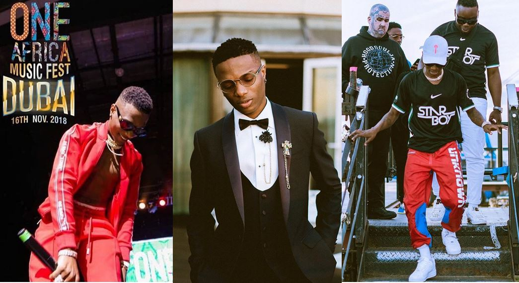 Wizkid Promises To Take 5 Fans On A Special Weekend With Him In Dubai