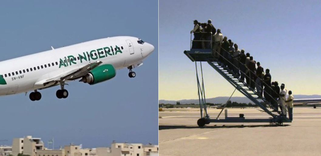 Nigerians react after federal government suspended Nigeria Air project