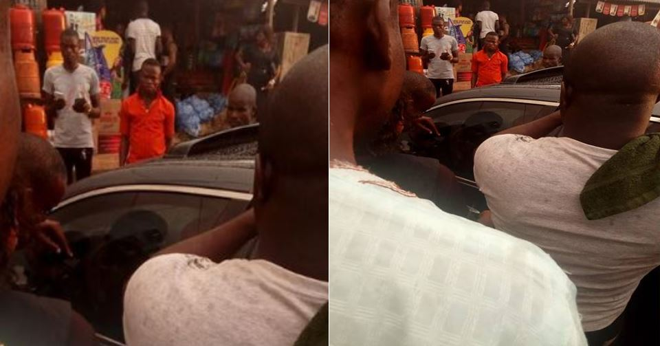Image result for photos of Nigerian Woman Refuses To Break Car Window To Rescue Her Trapped Child