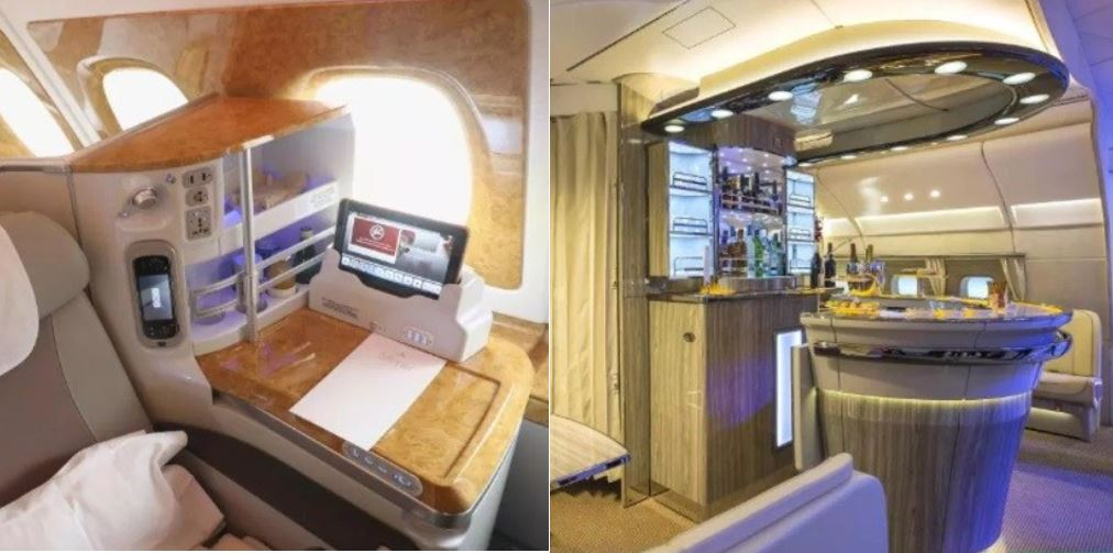 Checkout The Interior Of Real Madrid's Luxury Jet With Beds, Showers And 2500 TV Channels (Photos)