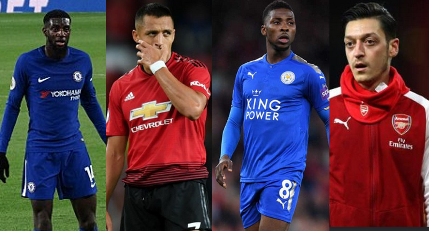 """Alexis Sanchez, Iheanacho, Ozil included in """"The Worst"""" XI Spoof Awards (Full squad)"""