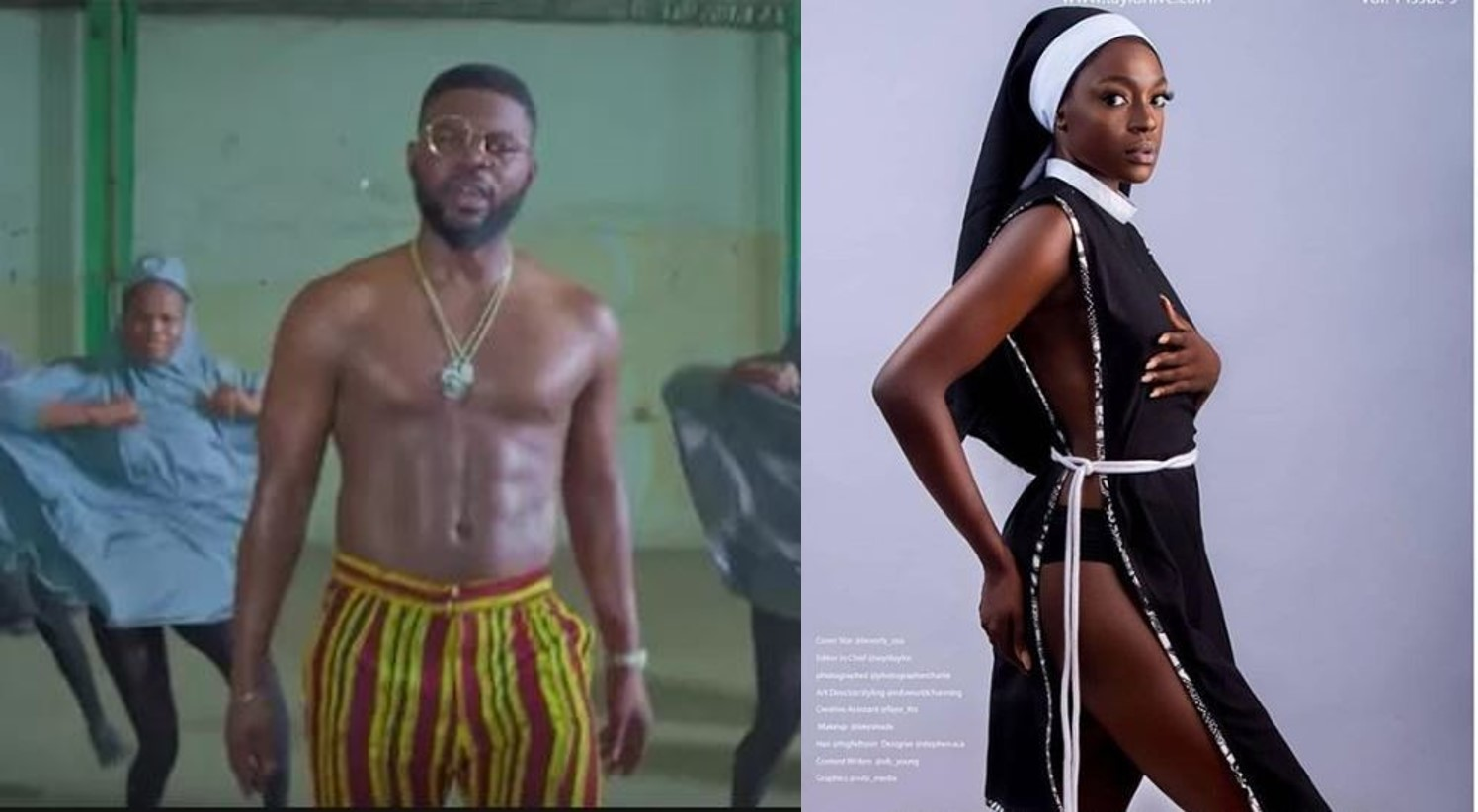 Insulting Religion In The Name of Art: Between Beverly Osu and Falz – Rasheed Abubakar writes
