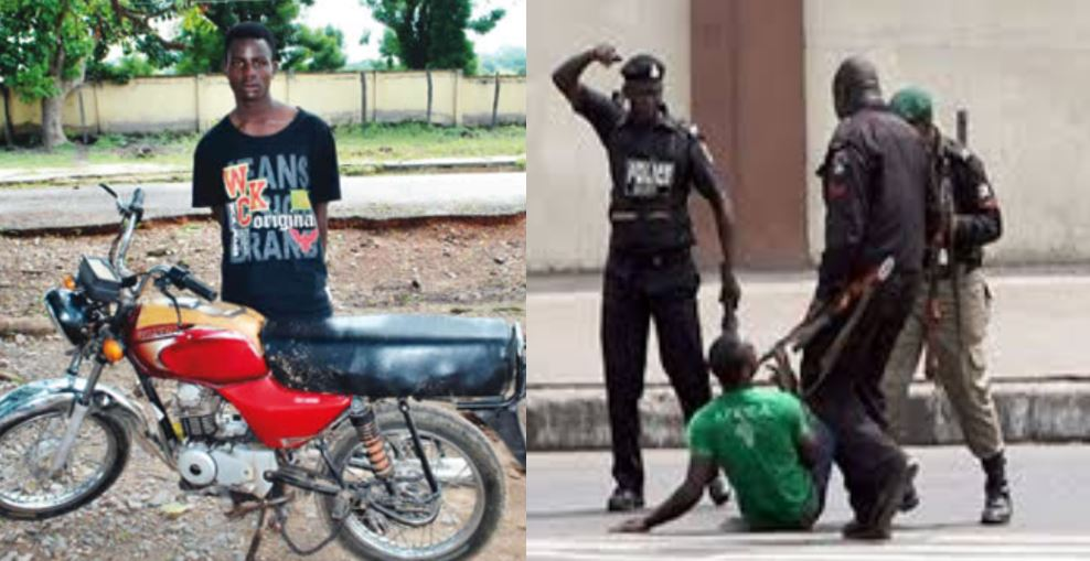 I steal motorcycle to take care of my girlfriend – Suspect