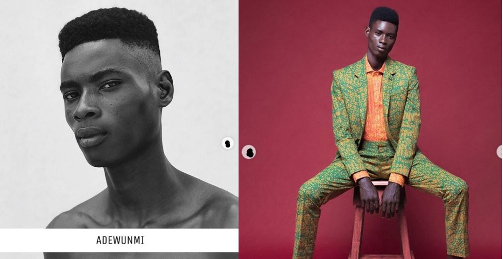 Inspiring story of how this Nigerian boy became an international model (Photos)