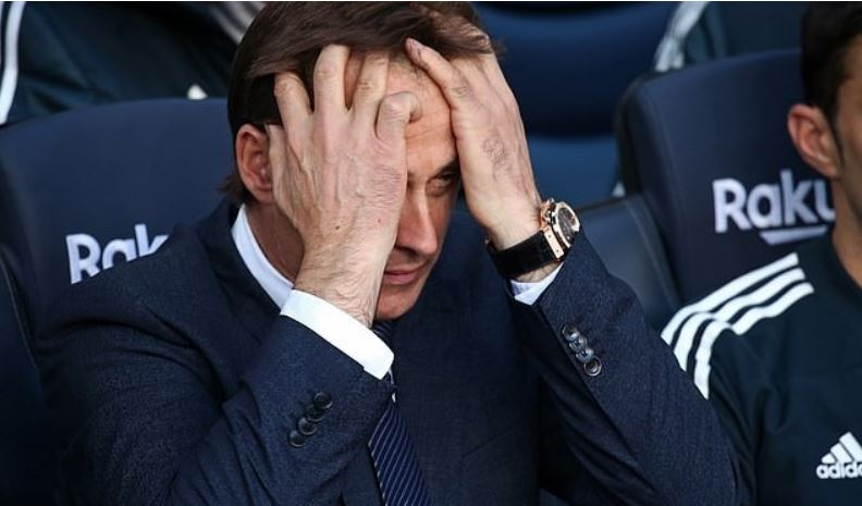 Real Madrid Sacks Julen Lopetegui After Embarrassing Loss To Barcelona As Conte Waits To Take Over